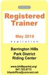 BHPD Trainer Tag