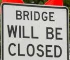 Cuba Bridge Closure