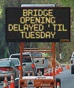 Cuba Bridge Delayed