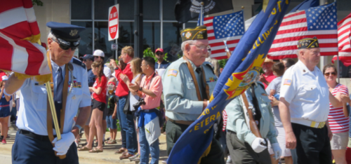 VFW-Post-7706-marches-in-Memorial-Day-Parade-2019